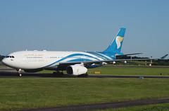 Oman Air A330-243 A40-DG. 17/06/17.