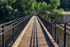 Occoquan River Foot Bridge -- Occoquan (VA) June 2017