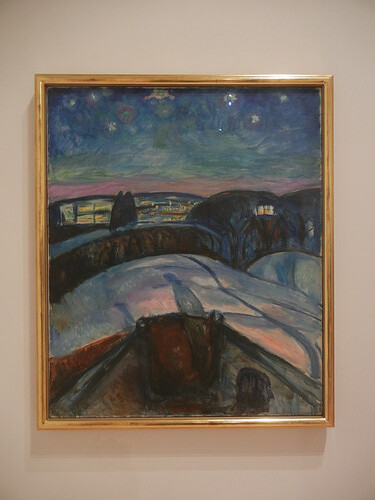 DSCN9079 _ Starry Night, 1922-24, Edvard Munch, SFMOMA