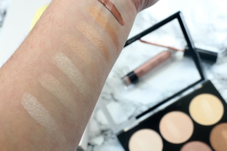 Nip+Fab Highlighting Palette Swatches