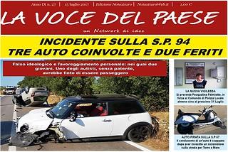 Noicattaro. Prima pagina n. 27-2017 front