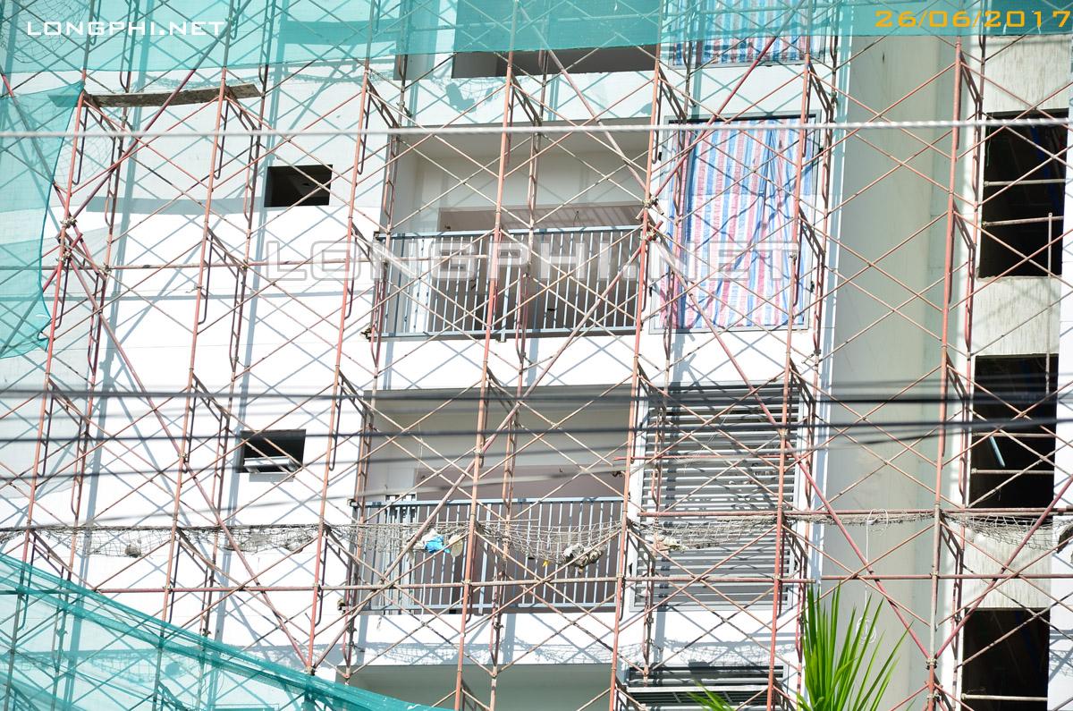 Đang thi công tháp M1 Jamona Apartment Luxury Home quận 7.