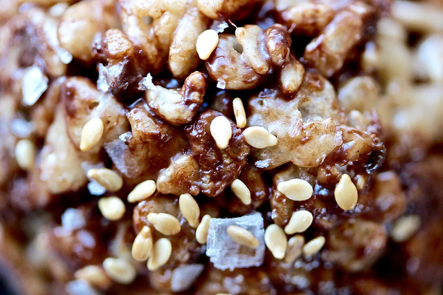 Salted Chocolate Sesame Rice Crispy Treats - 23