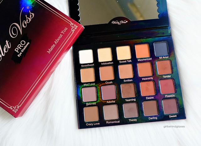 Violet Voss Matte About You Eyeshadow Palette3