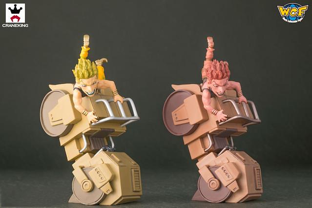 WCF系列《JoJo的奇妙冒險》第三部「星塵鬥士」迪奧 ROAD ROLLER ! ザ・ワールド コレクタブルフィギュア~ロードローラーだッ!~