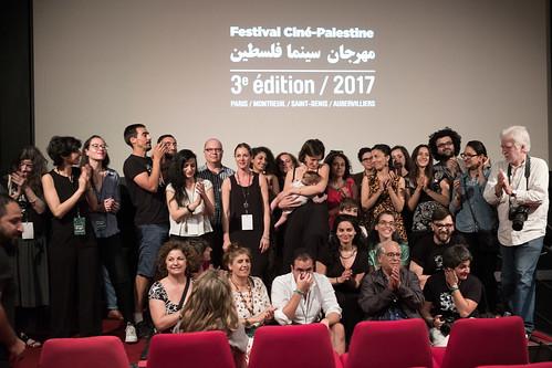 Sun, 06/11/2017 - 21:36 - Clôture de la 3ème édition du Festival Ciné-Palestine © Stéphane Burlot