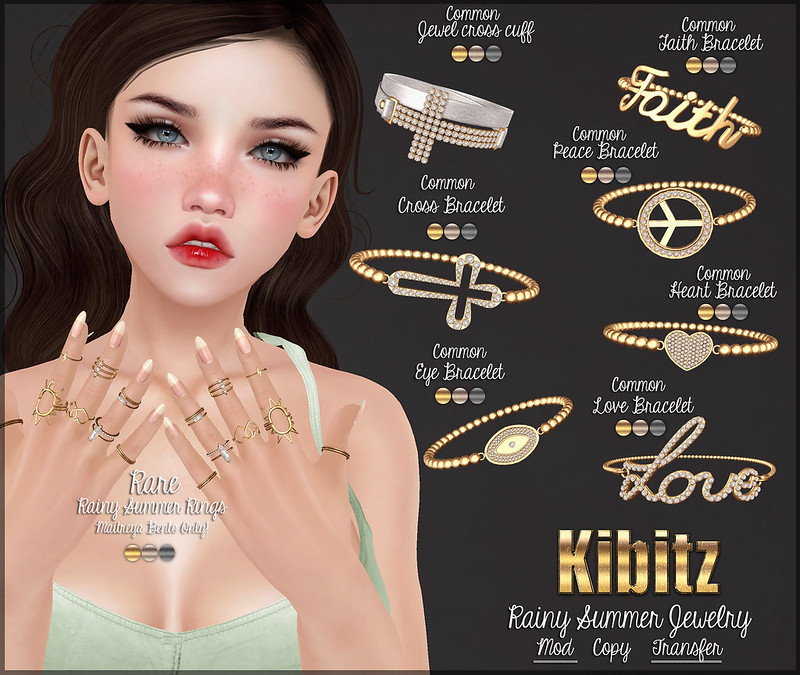 kibitz rainy summer jewelry