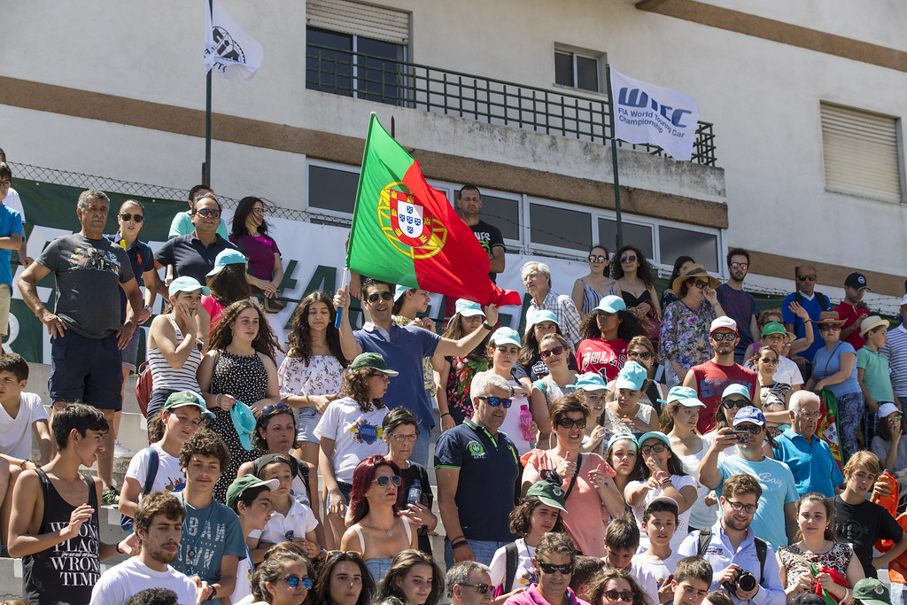 fan supporter during the 2017 FIA WTCC World Touring Car Championship race of Portugal, Vila Real from june 23 to 25 - Photo Gregory Lenormand / DPPI