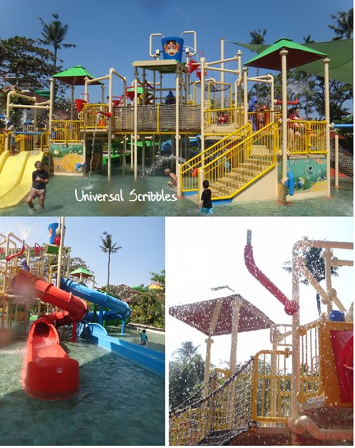 Waterbom Bali Kiddy Slides