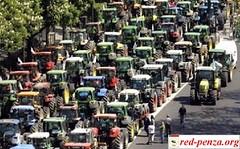 Фермеры Парагвая провели массовые забастовки