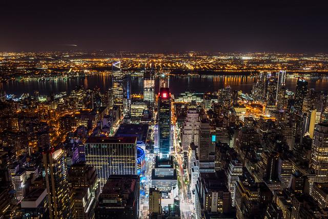 Night Lights // New York City