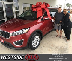 #HappyBirthday to Linda from Rick Hall at Westside Kia!