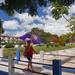 Zona Hospitalaria | Puente peatonal entre el Hospital General y el resto de los hospitales especializados