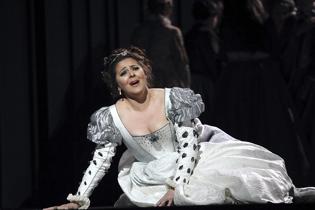 Maria Agresta as Desdemona in Otello, The Royal Opera © 2017 ROH. Photograph by Catherine Ashmore