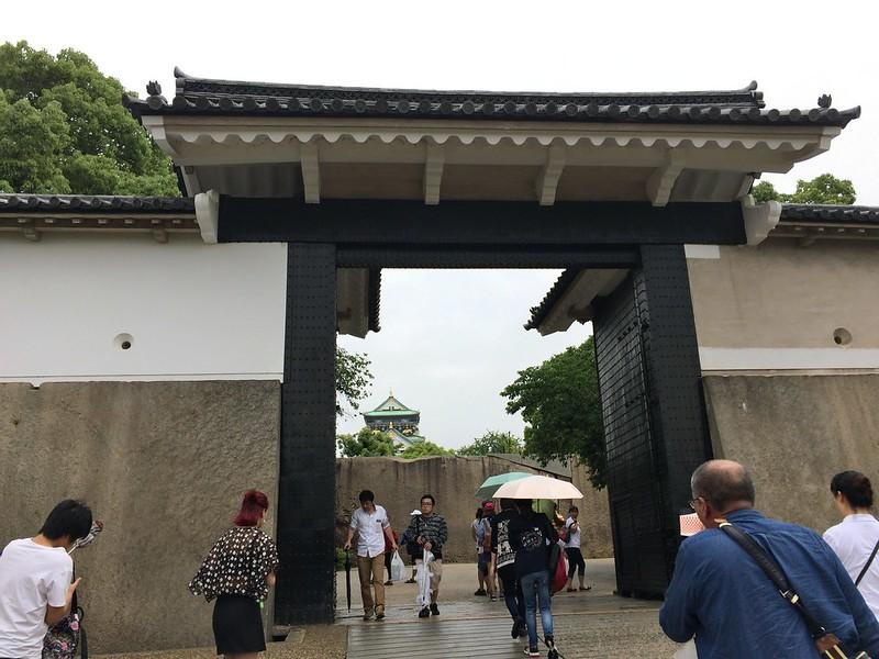 大阪城-櫻門
