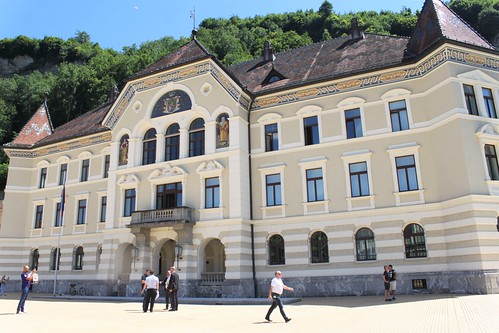 parliament building vaduz