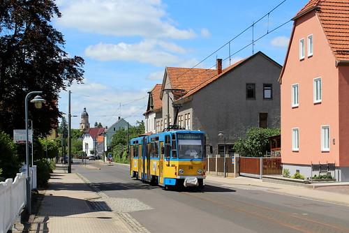 tram strasenbahn thüringerwaldbahn germany gotha tatra
