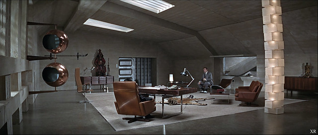 1967 ... 'You Only Live Twice' set design- Ken Adam