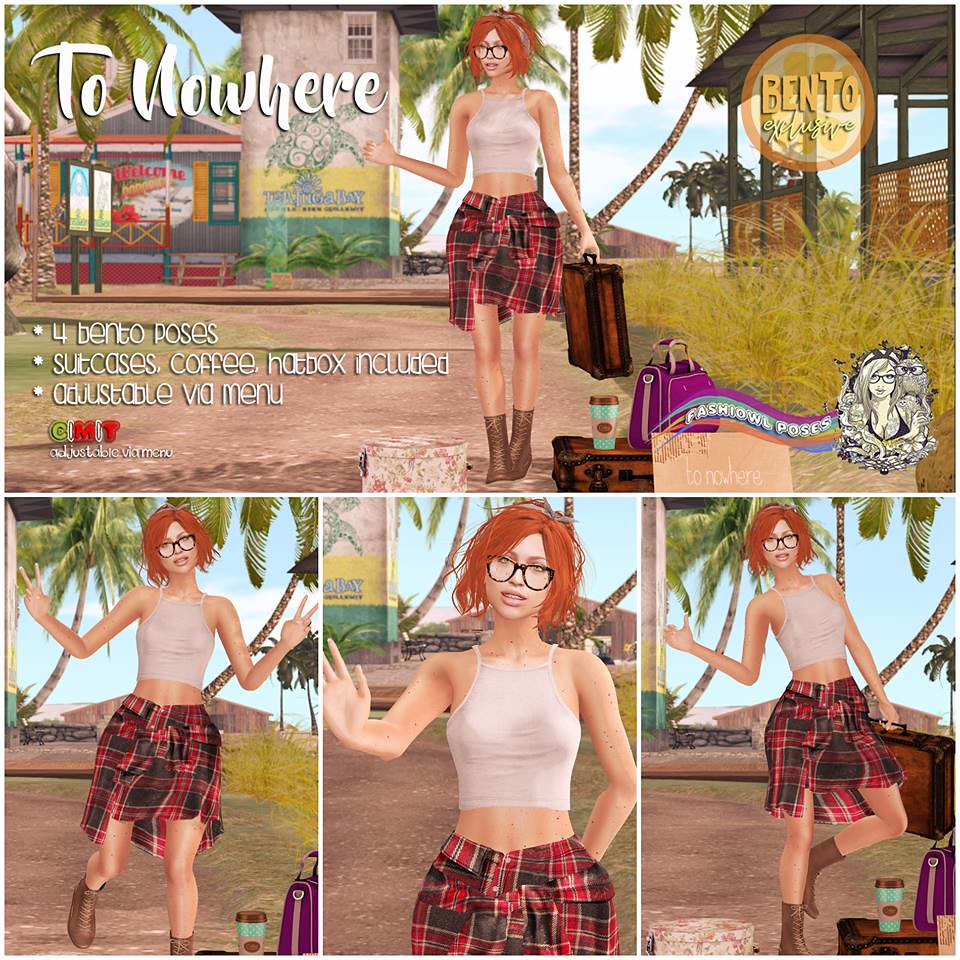 =fashiowl poses= To Nowhere - SecondLifeHub.com