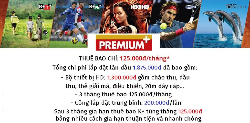 Chi phí lắp đặt truyền hình K+
