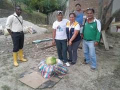 Alcaldía de Chone realizó acción social en Chibunga