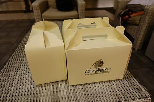 麥哲倫絲綢渡假村早餐盒