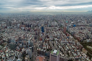 Taipeh - View from Taipei 101
