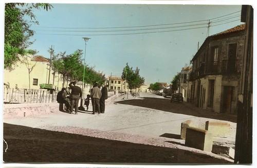 Navahermosa, Toledo [Material gráfico] : Avda. de Ntra. Sra del Rosario