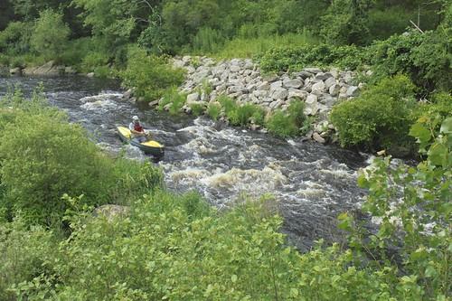 Running Lower Skannock Falls