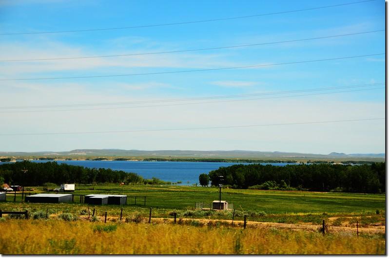 Glendo Reservoir, Wyoming