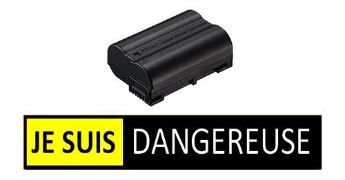 Nikon rappelle la batterie EN-EL15 pouvant potentiellement surchauffer et fusionner