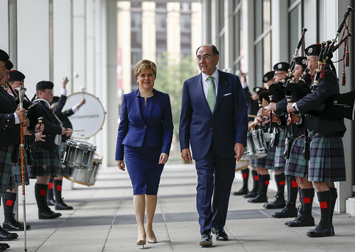 Nicola Sturgeon opens the new Scottish Power HQ in Glasgow