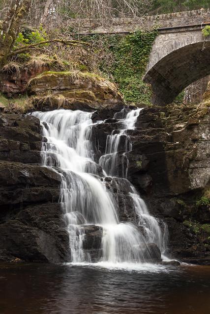 falls on Abhainn Deabhag