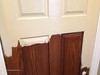 Refinishing fiberglass doors