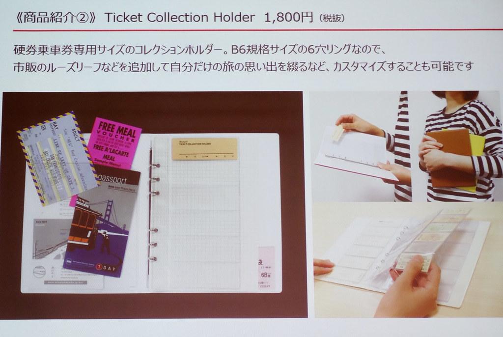 チケットコレクションホルダー