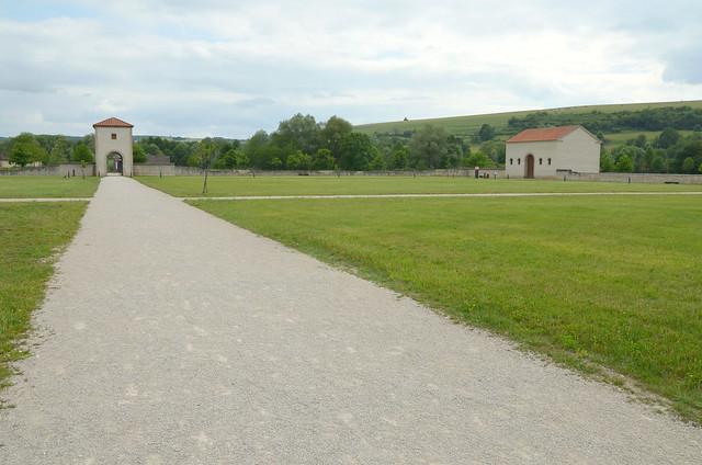 The pars rustica of the Roman villa in Reinheim, European Archaeological Park of Bliesbruck-Reinheim, Germany / France