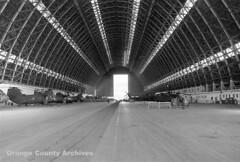 LTA hangar at Marine Corps Air Station Tustin, 1983