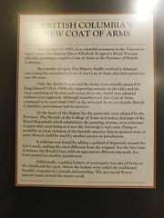 """BC's """"New"""" Coat of Arms Sign"""