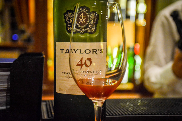 Taylor's 40 Year Port At The Vintage House