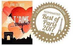 Je T'Aime Maybe? has been nominated for the #BestinParis2017 awards by EXPATRIATESMAGAZINE. Please vote for her Now: http://buff.ly/2ugSeVX http://ift.tt/2tmAprn