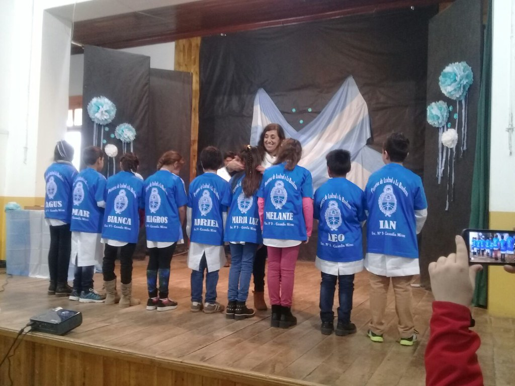 Acto Promesa de Lealtad a la Bandera Argentina (Fotos Ministerio de Educación)