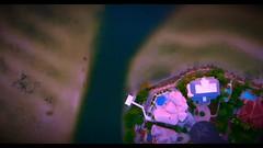 Bird's Eye View Of Tampa Bay Home At Pink Sunset Dusk - IMRAN™