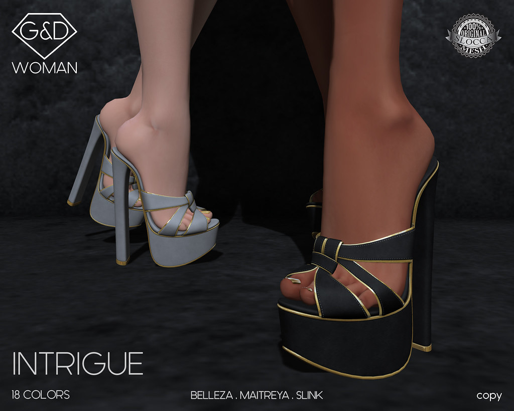 G&D Sandals Intrigue 1 adv - SecondLifeHub.com
