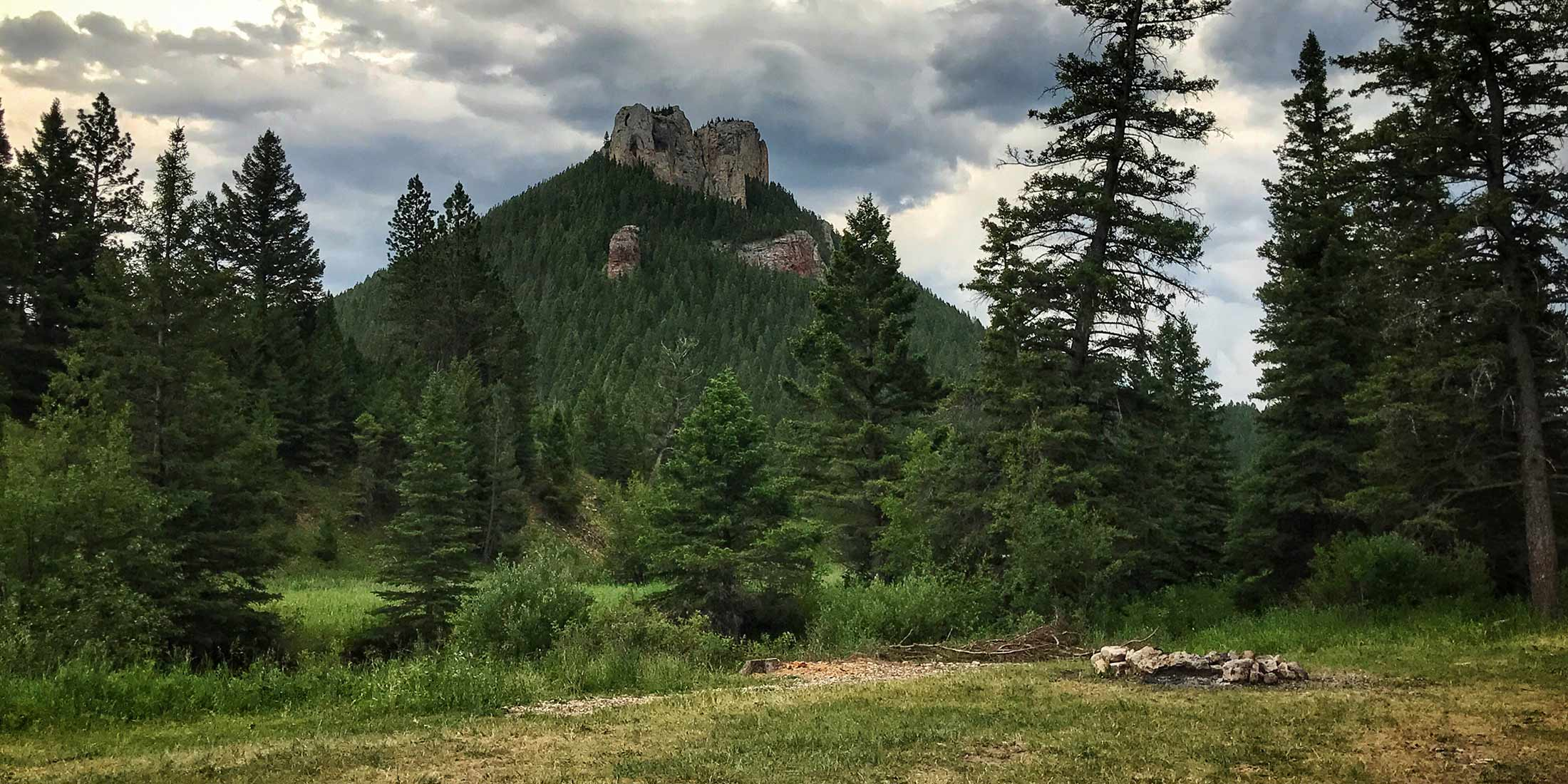 Information about Dry Pole Campground located in the Little Belt Mountain Range, Montana