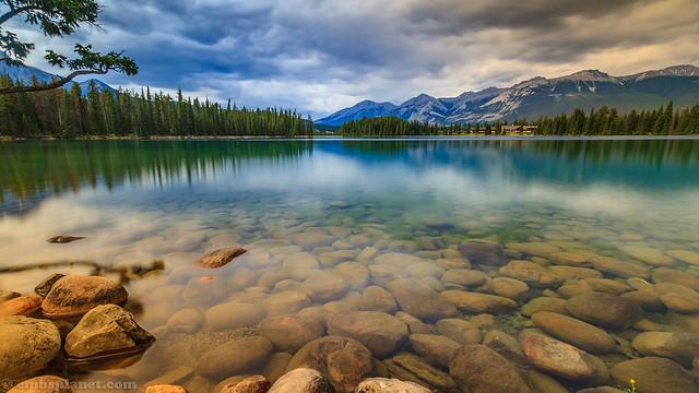Lake Beauvert, Canon EOS 7D, Sigma 10-20mm f/3.5 EX DC HSM