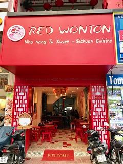 'Sichuan' restaurant in Saigon