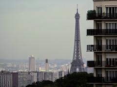 Tout Eiffel vue de Meudon la Forêt