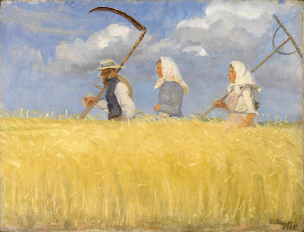 Harvesters by Anna Ancher, 1905