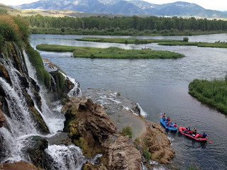 Boating down Idaho's South Fork of the Snake River