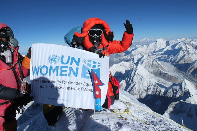 Woman Can | Kanchii Maya Tamang on top of Mount Everest